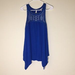 AE Tank Top- Blue